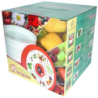 Сушилка поставляется в фирменной коробке (нажмите на фото для увеличения)