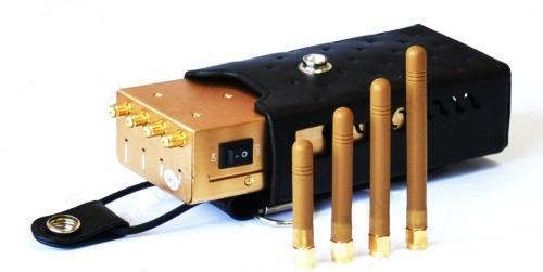 Подавление сразу нескольких стандартов связи достигается благодаря 4-м съемным антеннам