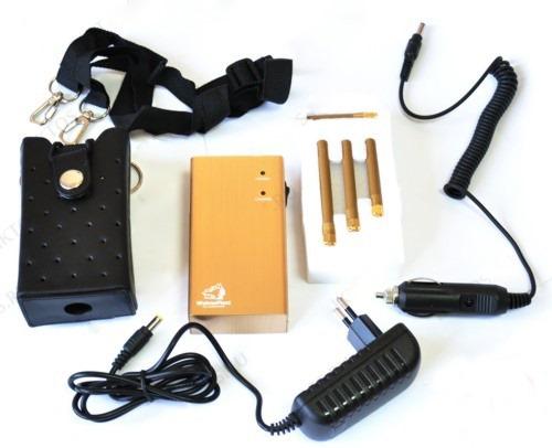 Комплект поставки подавителя сотовых телефонов GSM, 3G, GPS BugHunter BP-12D