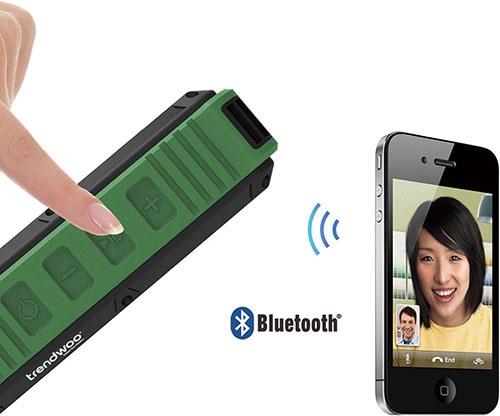 Аппарат легко соединяется с мобильными устройствами и MP3-плеерами по протоколу Bluetooth 4.0