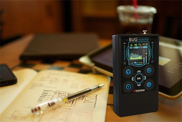 """Детектор """"BugHunter Professional-3"""" очень компактен — он не бросается в глаза и не загромождает пространство"""