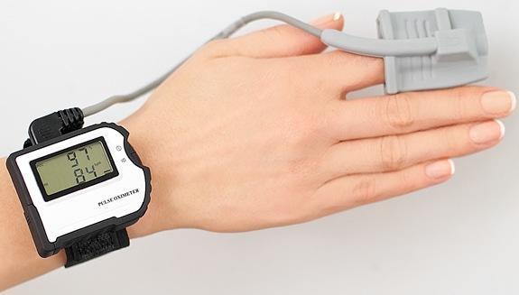 Схема пульсометра на руку