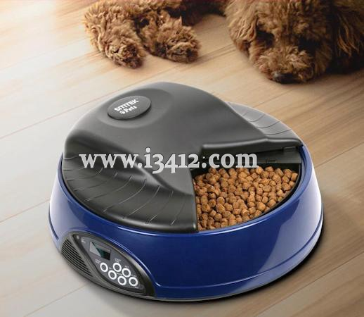 "Автокормушка ""SITITEK Pets Ice Mini"" в синем корпусе"