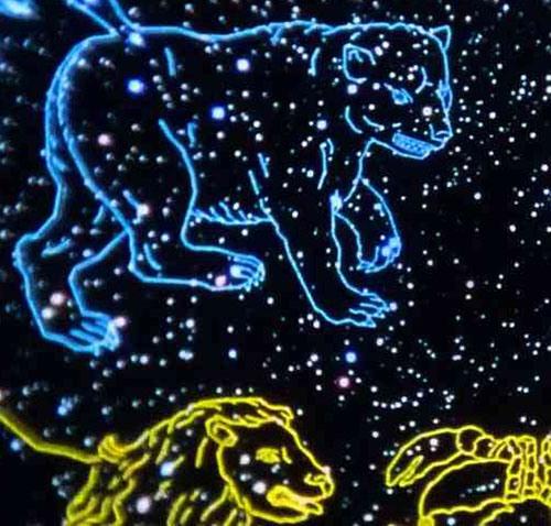 Созвездие Большой Медвидицы
