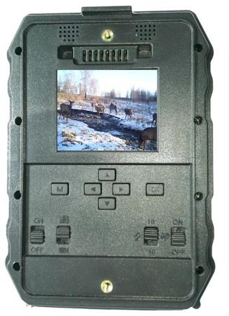 """В корпус фотоловушки """"Falcon Eye FE-AC200G"""" встроен 2-дюймовый дисплей"""