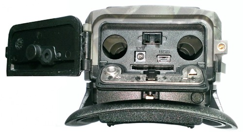 "Фотоловушка ""Falcon Eye FE-AC200G"" со снятой крышкой"