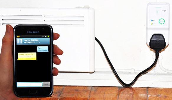 GSM розетка iSocket 707 может управлять электроприборами до 3,5 кВт