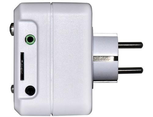 Разъемы на корпусе GSM-розетки для внешних датчиков и микрореле
