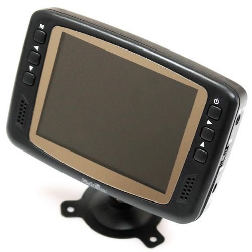 """Кнопки для управления параметрами изображения расположены на передней панели монитора рыболовной видеокамеры """"FishCam-501"""""""