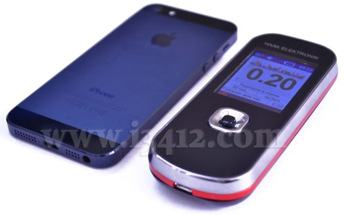 Ключевое достоинство дозиметра SMG-2 видно невооруженным глазом: прибор вполне можно принять за обычный сотовый телефон