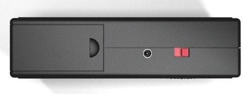 Отпугиватель кротов и грызунов ГРАД А-500: вид на прибор сбоку
