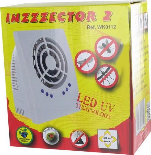 """Уничтожитель комаров и других насекомых """"Weitech WK0112 INZZZEKTOR 2"""" поставляется в небольшой, красочной коробке"""