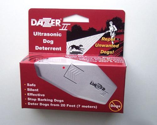 Упаковка ультразвукового отпугивателя собак Dazer II