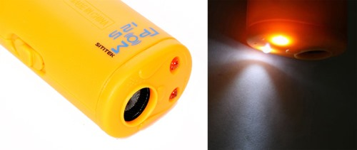 При необходимости, Вы можете воспользоваться отпугивателем SITITEK ГРОМ-125 как обычным фонариком