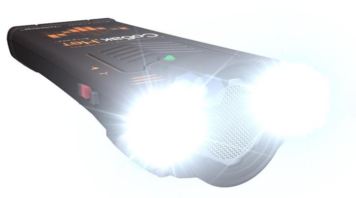 Сверхъяркие световые вспышки стробоскопов усиливают эффективность отпугивания