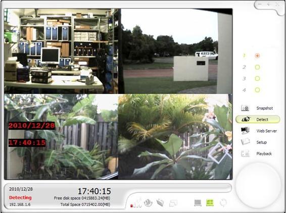 """Рабочее окно программного обеспечения для Wi-Fi """"SITITEK Home"""""""