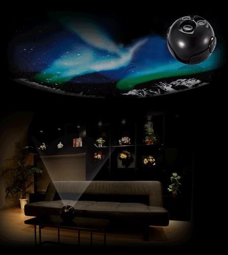 """Домашний планетарий Homestar """"Aurora Alaska"""" отлично вписывается в любой дизайн помещений"""