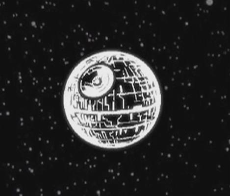 """Звезда Смерти проецируемая планетарием """"HomeStar R2-D2"""""""