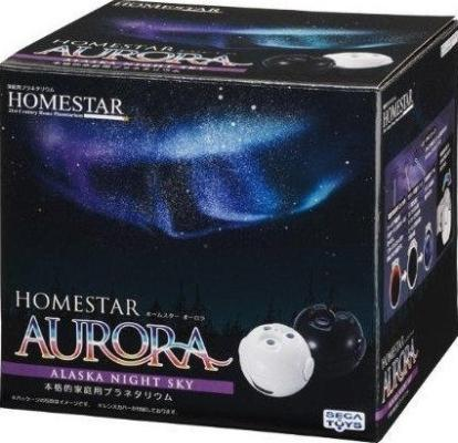 """Планетарий Homestar """"Aurora Alaska"""" поставляется в большой, красочной коробке"""