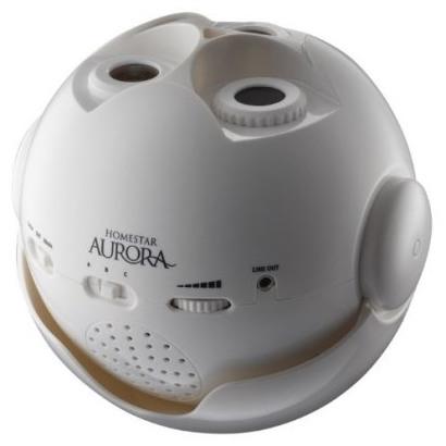 """Планетарий Homestar """"Aurora Alaska"""" оснащен тремя объективами, каждый из которых отвечает за проекцию своего изображения"""