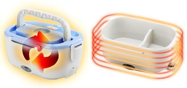 Конструкция ланч бокса ER202 позволяет долго сохранять тепло