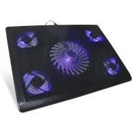 """Подставка для ноутбука """"CROWN CMLC-205T"""" охлаждающая, до 17"""""""