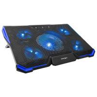 """Подставка для ноутбука """"CROWN CMLS-k331 BLUE"""" охлаждающая, до 19"""""""