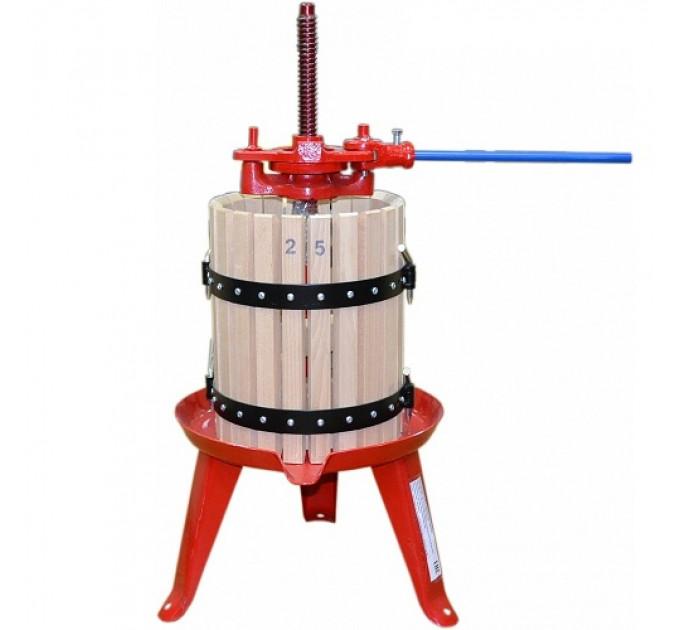 Пресс для отжима сока Zambelli D25 домкратный, 15 л