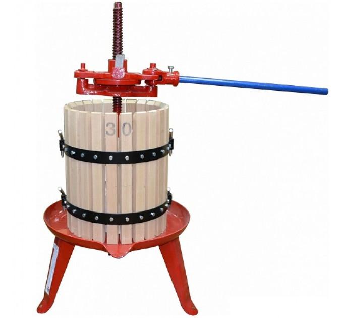 Пресс для отжима сока Zambelli D30 домкратный, 28 л