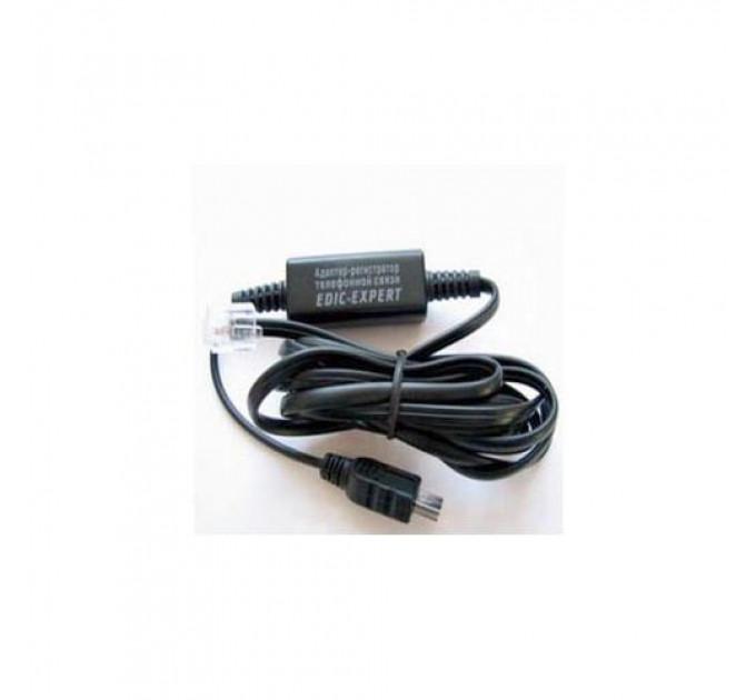Адаптер записи телефонных переговоров для диктофонов Edic-mini LCD