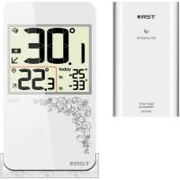 """Термометр RST 02253 """"Stile Q253"""" цифровой (белый)"""