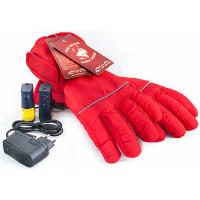Перчатки с подогревом RedLaika RL-P-02 (Akk) красные, емкость акк. 3400 mAh, размер L/XL