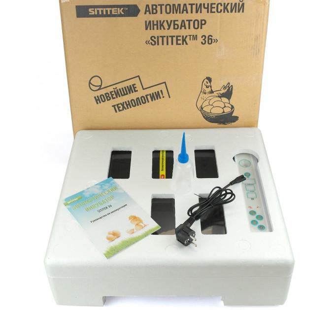 """Автоматический инкубатор """"SITITEK 36"""" с универсальными лотками"""