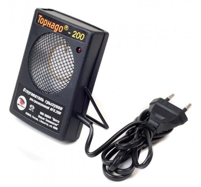 Ультразвуковой отпугиватель грызунов, крыс, мышей Торнадо 200 (ОГ. 08-200)