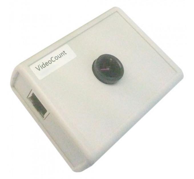 Видеосчетчик посетителей с аналитикой VideoCount с передачей через интернет (белый)